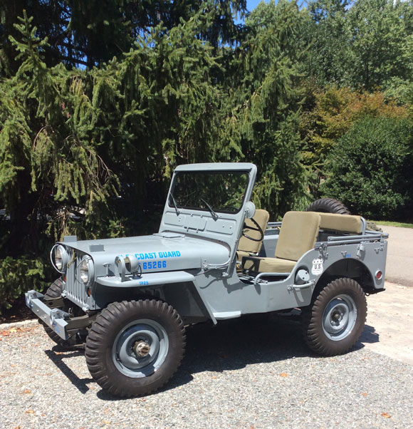 A Willys Jeep Restored and Dedicated to the Coast Guard :: Kaiser Willys Jeep Blog