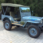 A Willys Jeep Restored and Dedicated to the Coast Guard