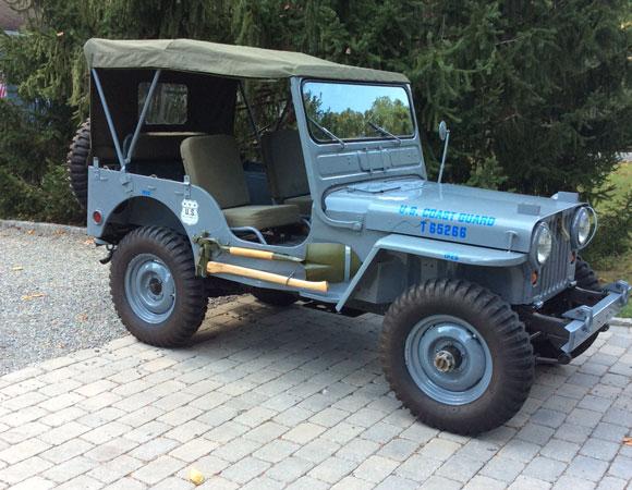 Michael Elliott's 1951 Willys M38