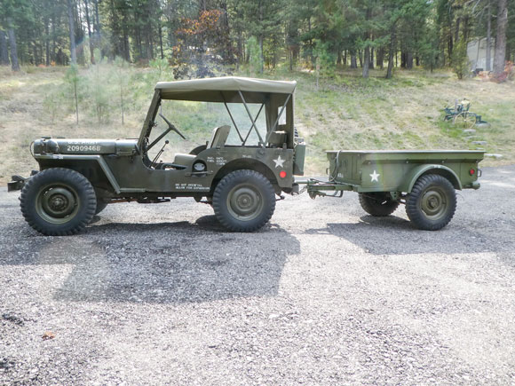Robert Starr's 1952 Willys M38