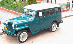 Alejandro Balaguera - 1955 Willys Station Wagon