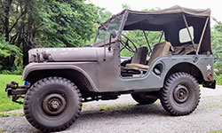 Eugene Salvo - 1953 Willys M38A1