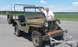 Hans Ewa Kienbacher - Willys CJ-3A