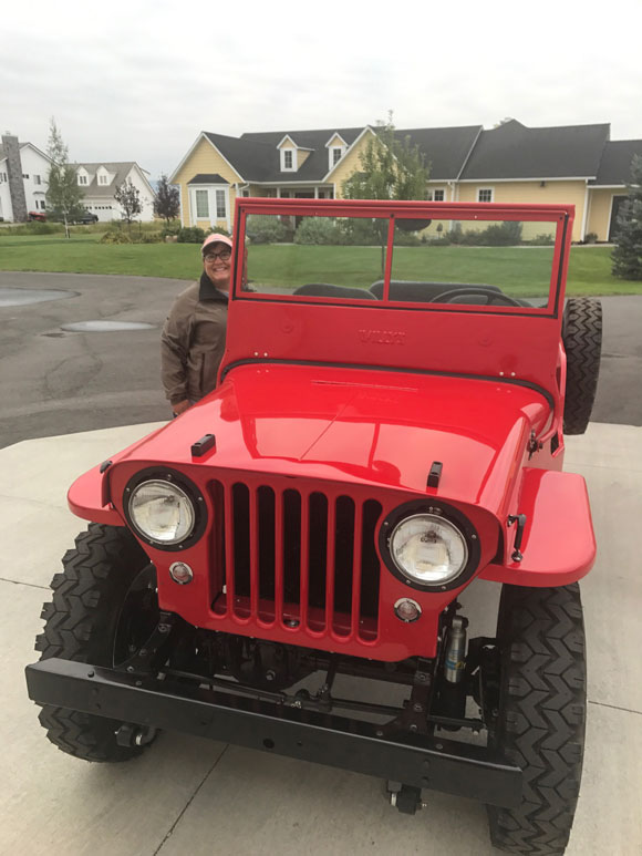 Curt Porteus' 1948 Willys CJ-2A