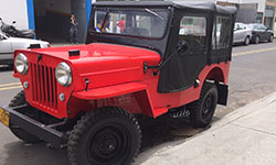 Javier Calle - 1954 Willys CJ-3B