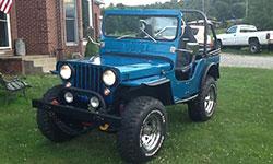 Jeff Raible - Willys CJ-3A