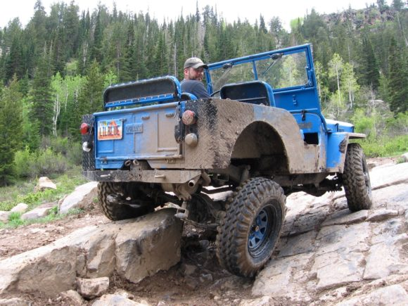 Seth Rockwell's 1950 Willys CJ-3A