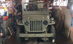 Shiran Refai - 1947 Willys Jeep