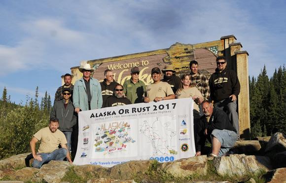 2017 Alaska or Rust