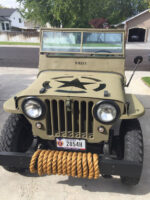 Paul Gazdik's 1947 Willys CJ-2A
