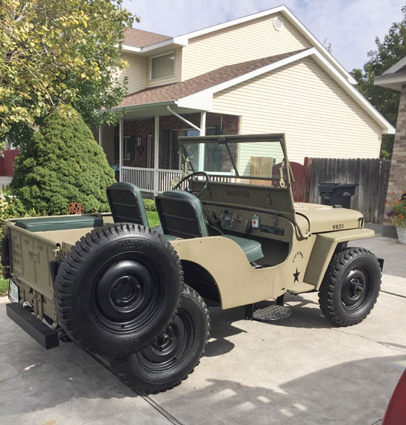 Paul Gazdik's 1947 Willys CJ-2A