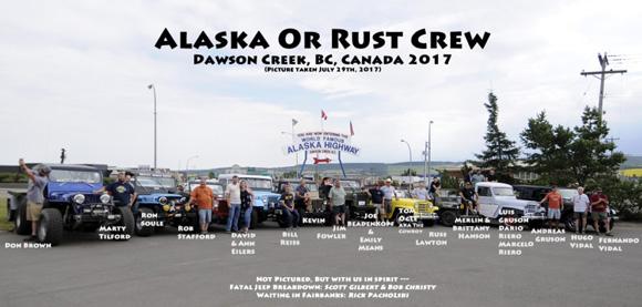 2017 Alaska or Rust Crew