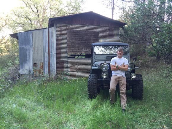Chad Ramsey's 1950 CJ-3A