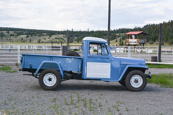 Chris Gentile's 1956 Willys Truck