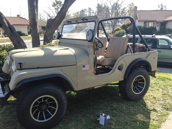 Josh Scarbrough's 1964 CJ-5