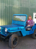 Vanessa Thompson's 1949 Willys CJ-3A