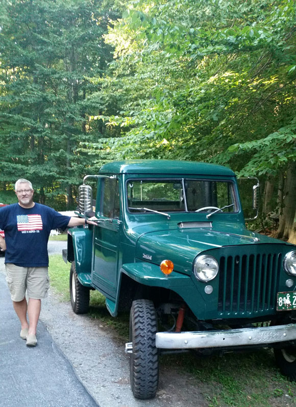 Ted Tuerk's 1950 Willys Truck