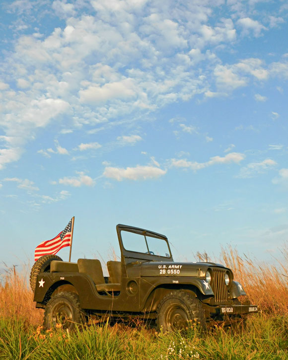 Cade Ifland's 1954 Willys M38A1