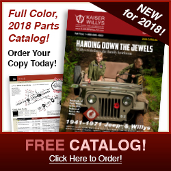 2018 Kaiser Willys Jeep Parts Catalog