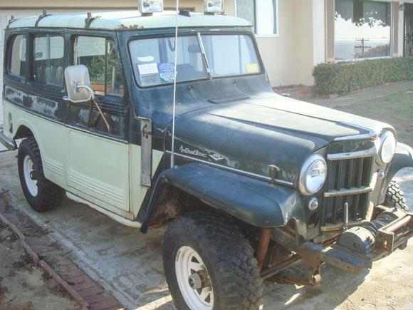 Doug Roehr's 1960 Willys Wagon