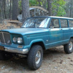A Husband and Wife Team to Restore a 1964 Wagoneer
