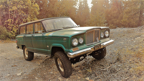 Suzanne Koster's 1964 Wagoneer