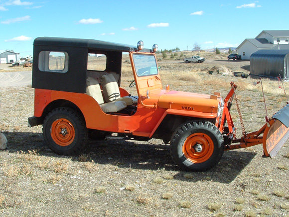 Tina Livingston's 1948 Willys CJ-2A