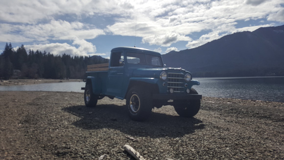 Mike Morrison's 1951 Willys Truck