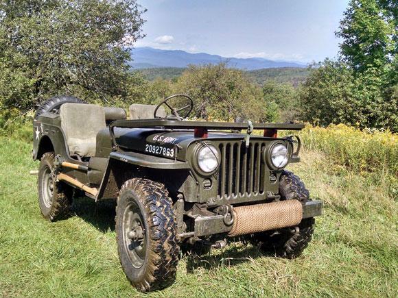 Doug Johnson's 1952 Willys M38