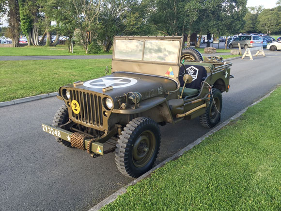 Patrick McDonagh's 1942 Willys MB