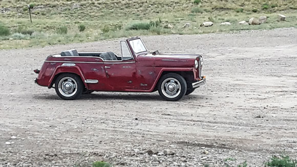 Justin Hasenack's 1949 Jeepster