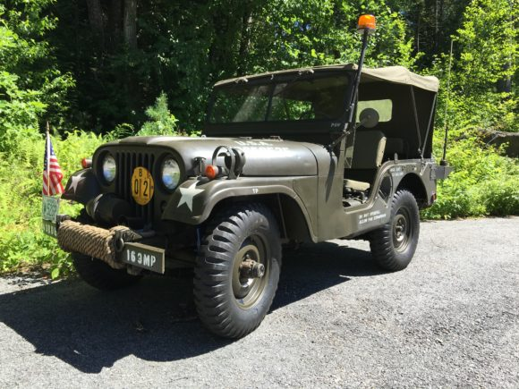 Charlie Bourret's 1952 Willys M38A1