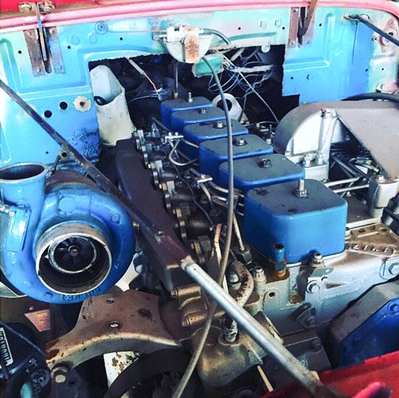 Dax Dean's 1955 Willys Wagon