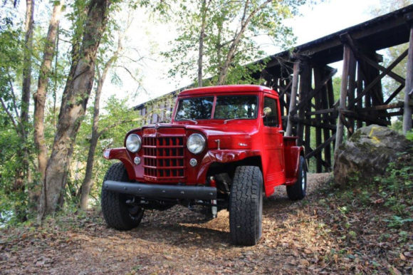 Tony Flippin's 1950 Willys Pickup
