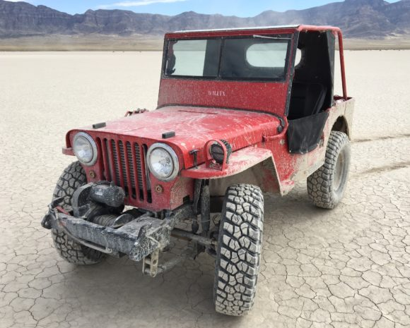 Jake Johnson's 1947 Willys CJ-2A