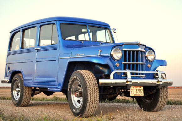 Matt Huber's 1962 Willys Station Wagon