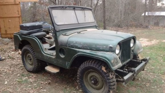 Keith Spillman's 1955 Willys M38A1