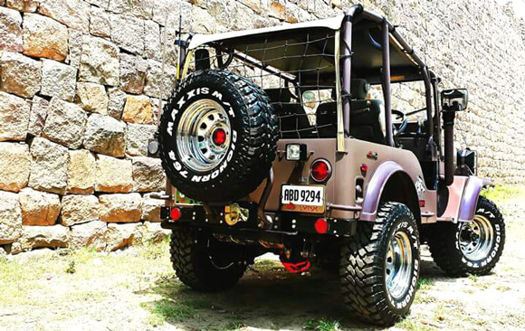 Fazal Adil's 1961 Willys CJ-3B