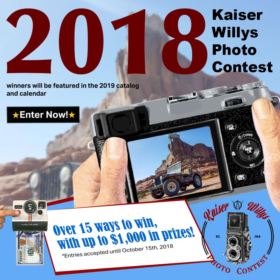 2018 Kaiser Willys Photo Contest