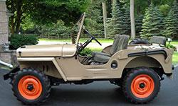 Mike Shea - 1946 Willys CJ-2A