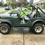 Then and Now – A CJ-5 Restored for the Family