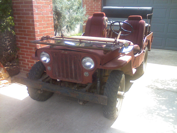 Jon Maib's 1948 Willys CJ-2A