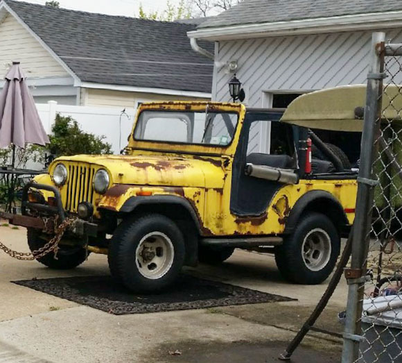 Nick Ferraro's 1965 CJ-5