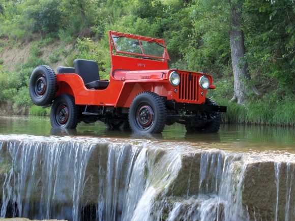JW Heater's 1947 Willys CJ-2A