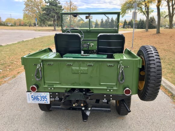 Jeff Wiwcharuk's 1946 Willys CJ-2A