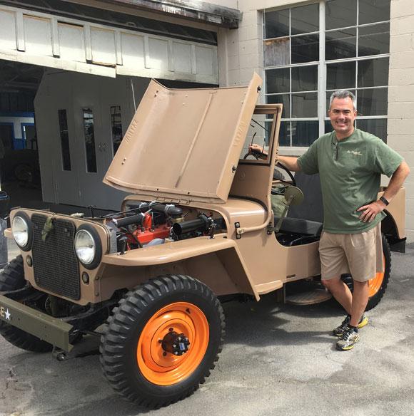 Joel Gosnell's 1946 WIllys CJ-2A
