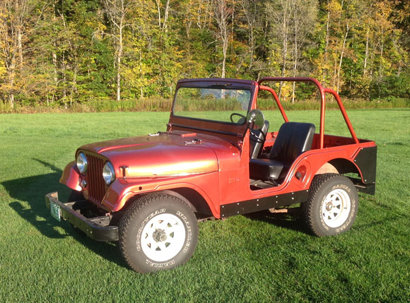 Keith Collishaw's 1955 Willys CJ-5