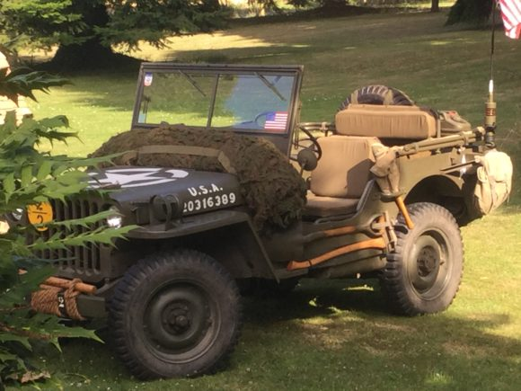 Philippe Congne's 1943 Willys MB