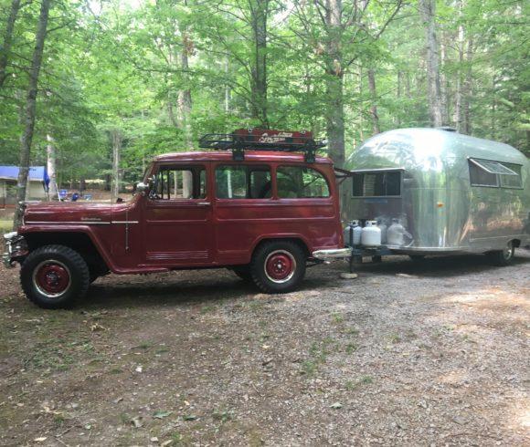 Randy Jarrell's 1953 Willys Wagon