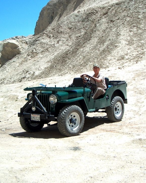 Tom Barnes' 1951 Willys CJ-3A